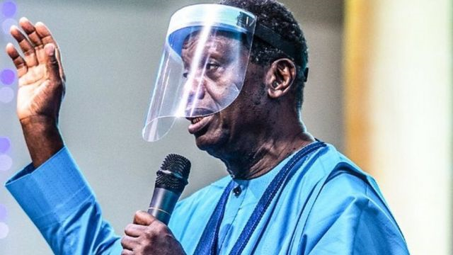 Pastor Adeboye States Position on use of Face Masks over COVID-19