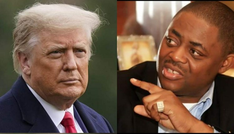 Consider your own pitiful condition before you say Trump will go to Jail – Fani Kayode tells Nigerians
