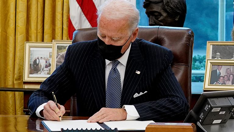 Biden signs new South Africa travel restrictions