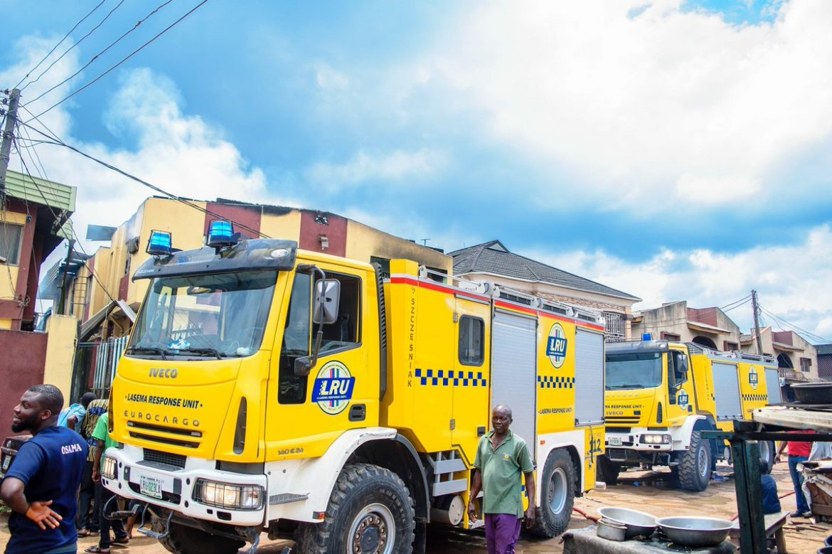 IJESHA FIRE: LASEMA identifies faulty cooking gas cylinder as cause  — DG
