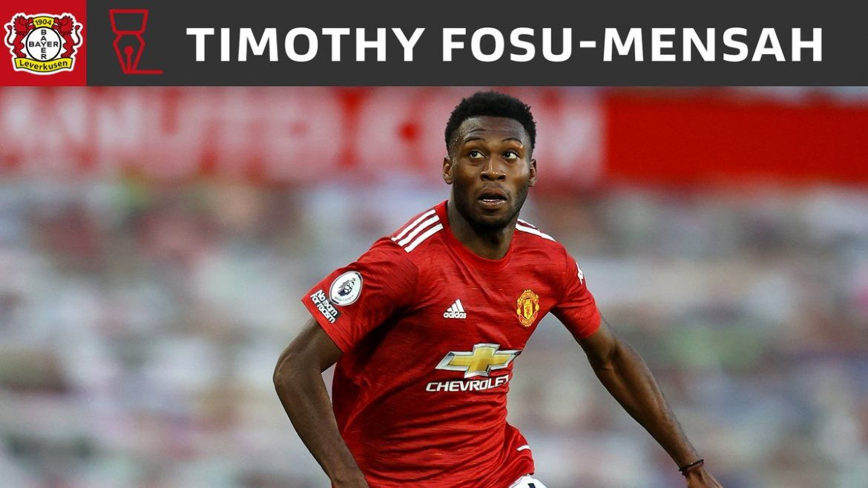 Transfer: Timothy Fosu-Mensah moves to Bayer Leverkusen in a £1.8m move