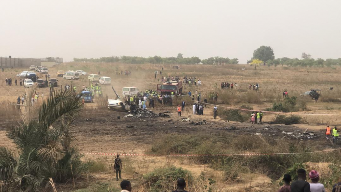 NAF to probe Abuja jet crash claiming seven lives