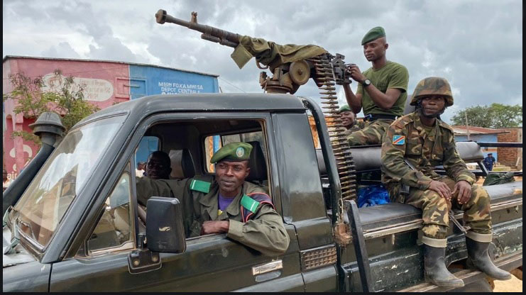 DRC: Eleven dead as rebels attack military sites