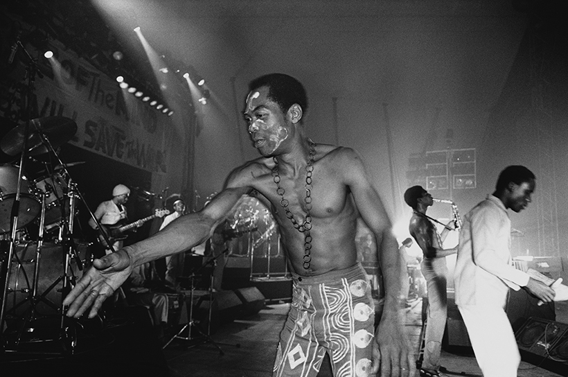 Nigerians mobilises support for Fela Kuti as winner 'Rock & Roll Hall of Fame'