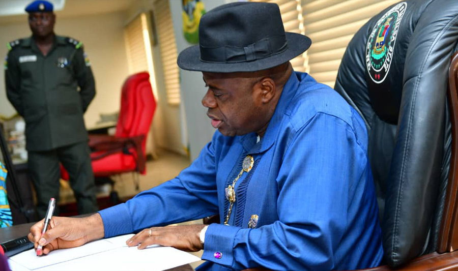 Bayelsa: Governor implore character commission to resolve state's representation