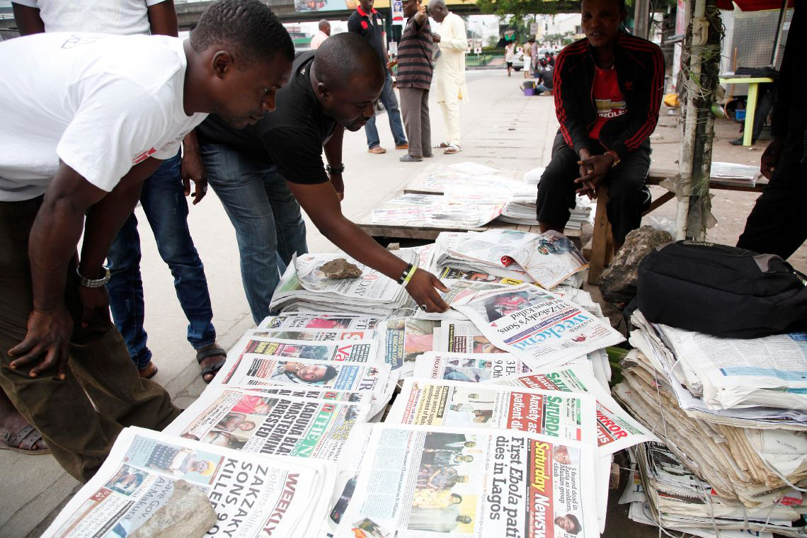 Nigerian media 'interested with bad news'