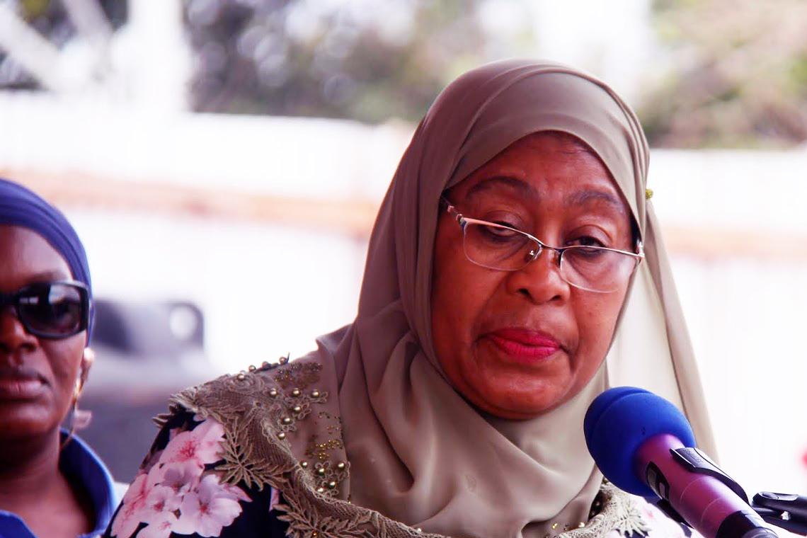 First female U.S. vice president congratulates Tanzania's first woman president