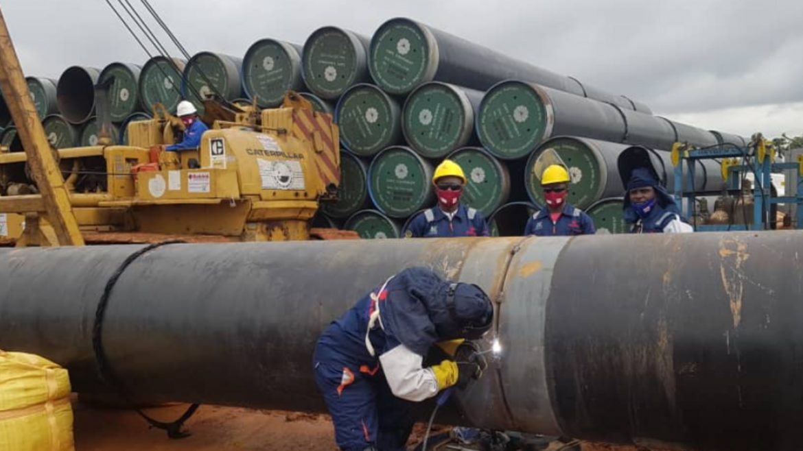 NNPC delivers 96 AKK project pipes by rail to Itakpe