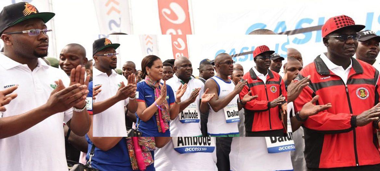 General Buratai flags off 5th Access Bank Lagos City Marathon