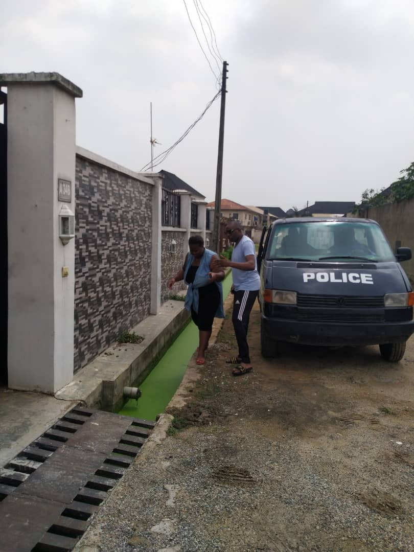 Estate Chaos: Airforce Officer harass Civilians