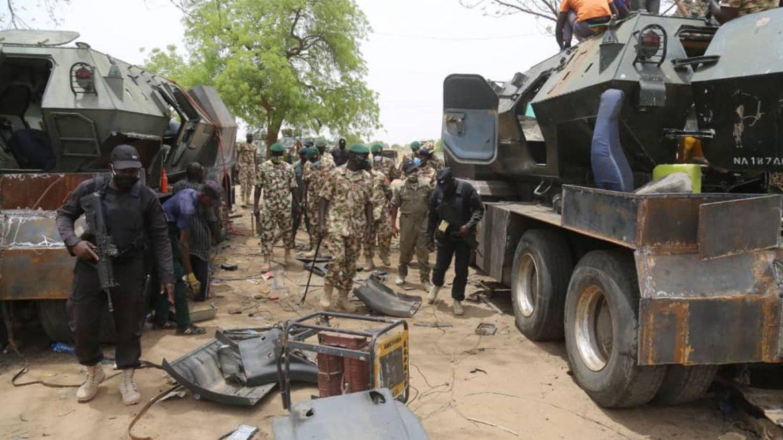 Nigerian military bombs bandits camp kills 78
