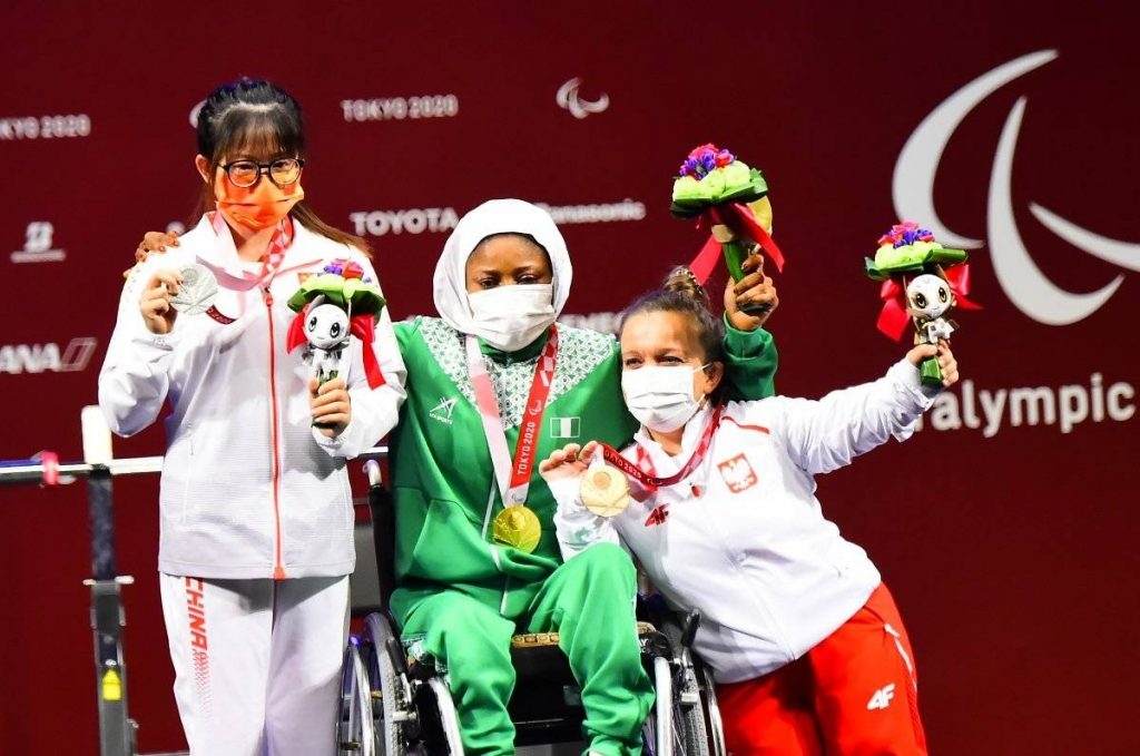 Nigeria win first gold medal at the ongoing Tokyo Paralympics