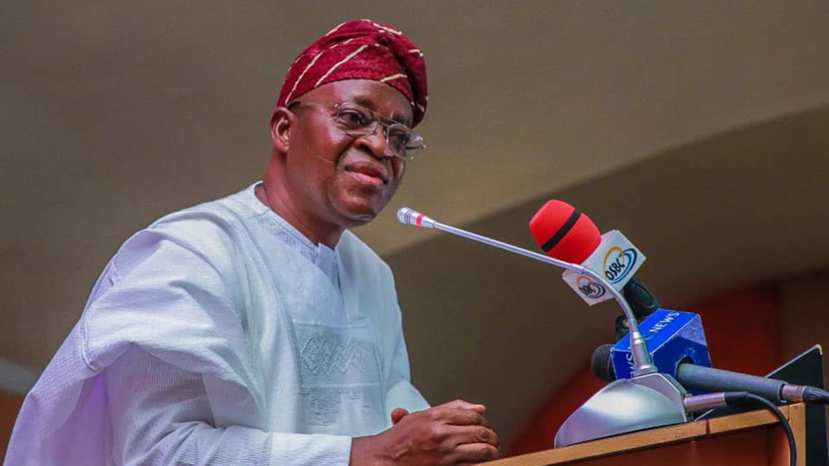 People agitating for break up are unserious – Governor Oyetola