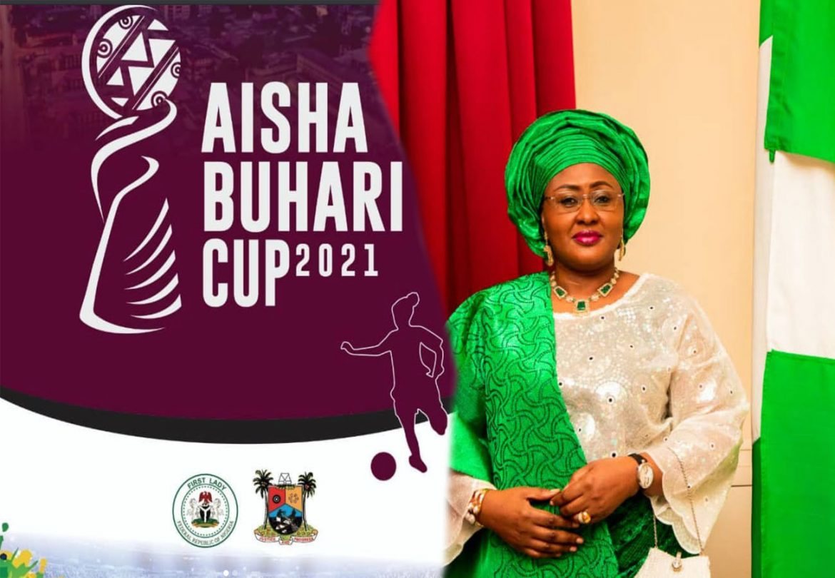 Nigerian government give out N50 million support to Aisha Buhari Cup