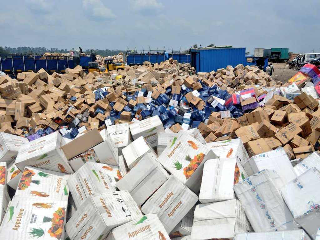 Nonregulated goods, products harmful to health – NAFDAC Chief