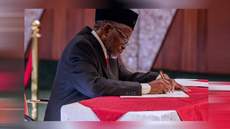 Tanko Muhammad regard ex-CJN, Justice Sylvester as a distinct Justice