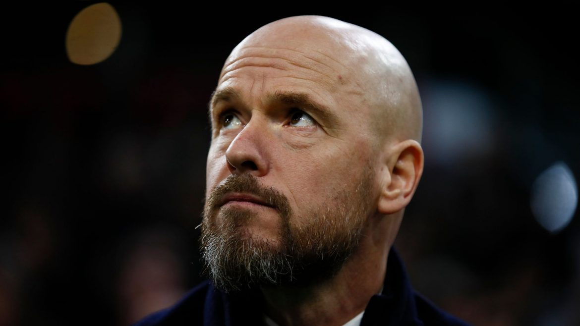 Erik Ten Hag signs extended contract as Ajax manager