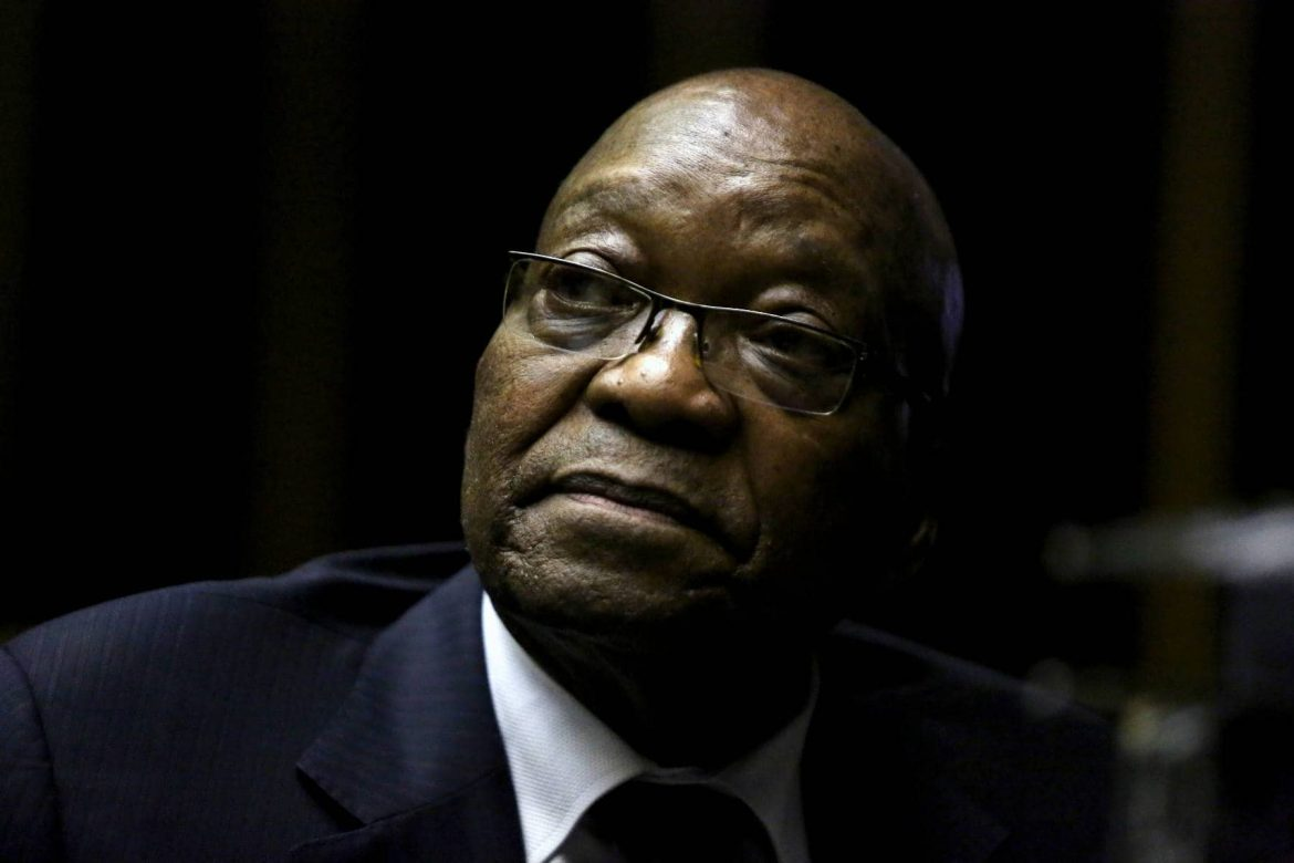 South Africa's Zuma sentenced to 15 months in jail