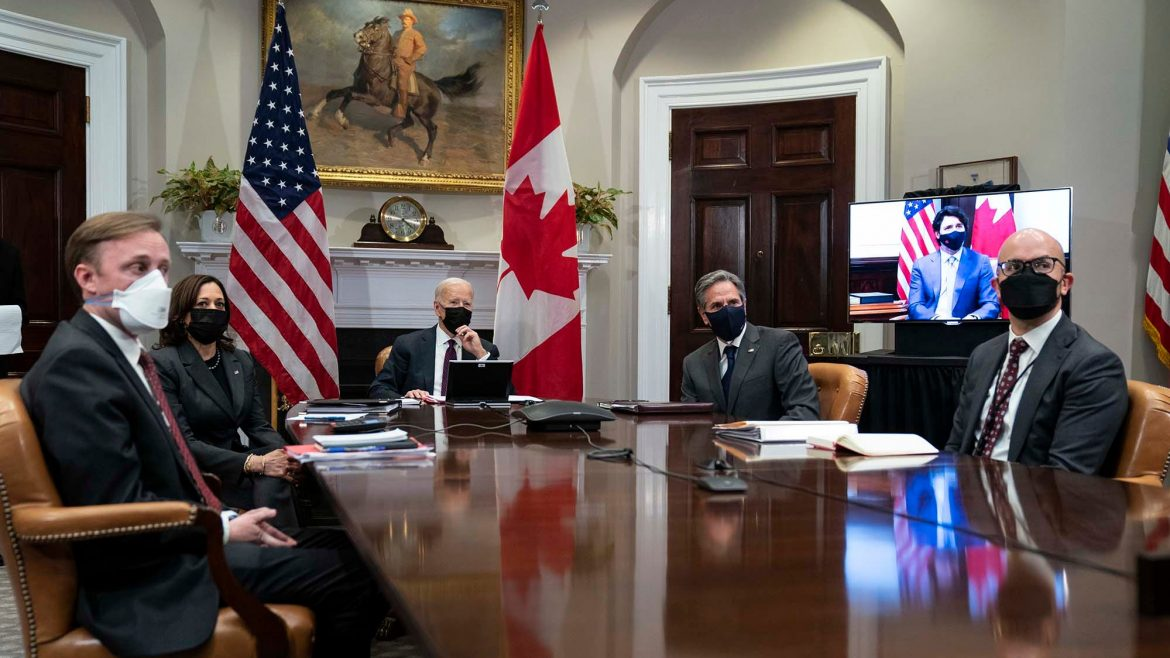 Canada's premier says he discussed border with Joe Biden