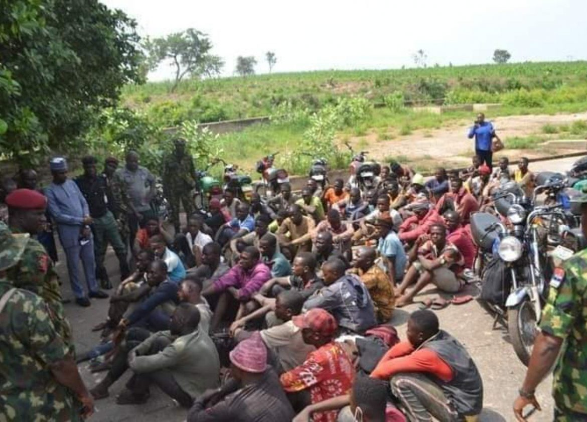 Troops block 73 motorcyclist from Nasarawamen to Imo