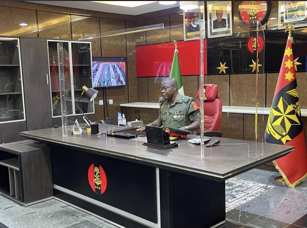 Senate finally confirms Farouk Yahaya as Chief of Army Staff