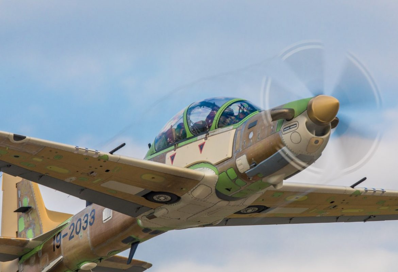 Super Tucano fighter planes arrive Nigeria