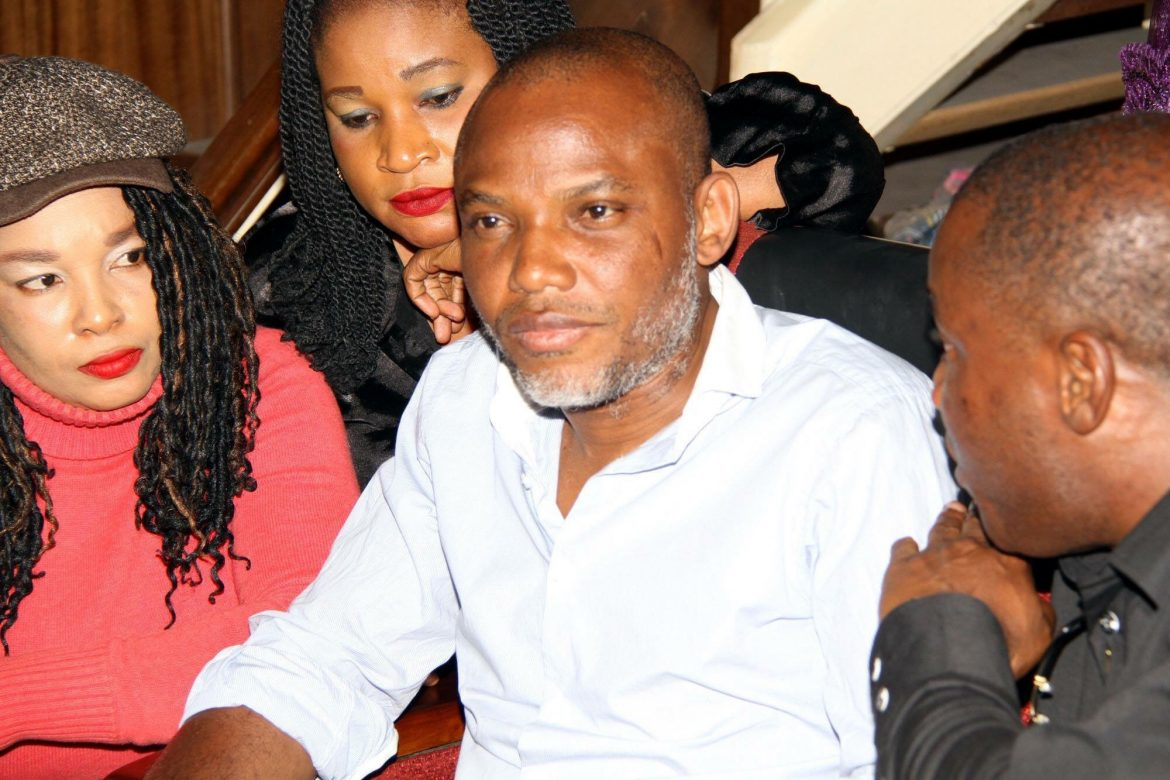 Federal Government hails Ohanaeze's plan to monitor Nnamdi Kanu's trial