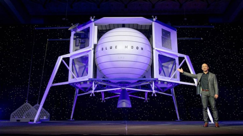 Jeff Bezos offers NASA $2 billion to pick Blue Origin's lunar lander
