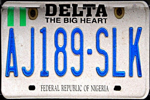 Delta official says no renewal of old, defaced number plates