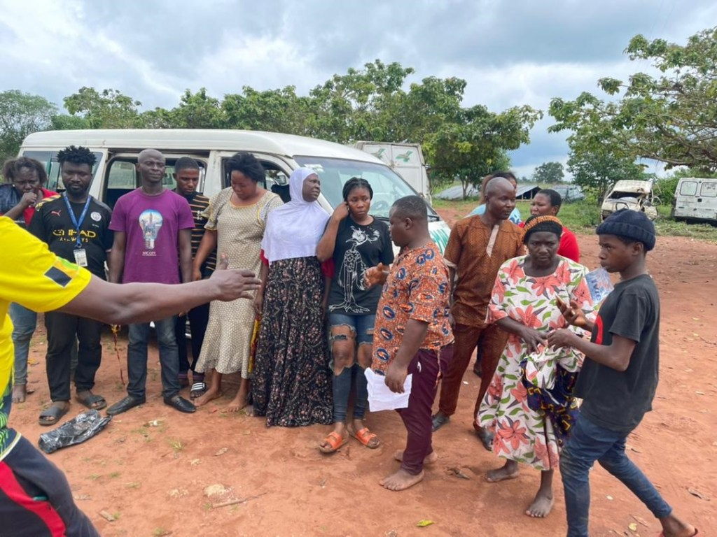 EDO: Police rescues travellers from kidnappers