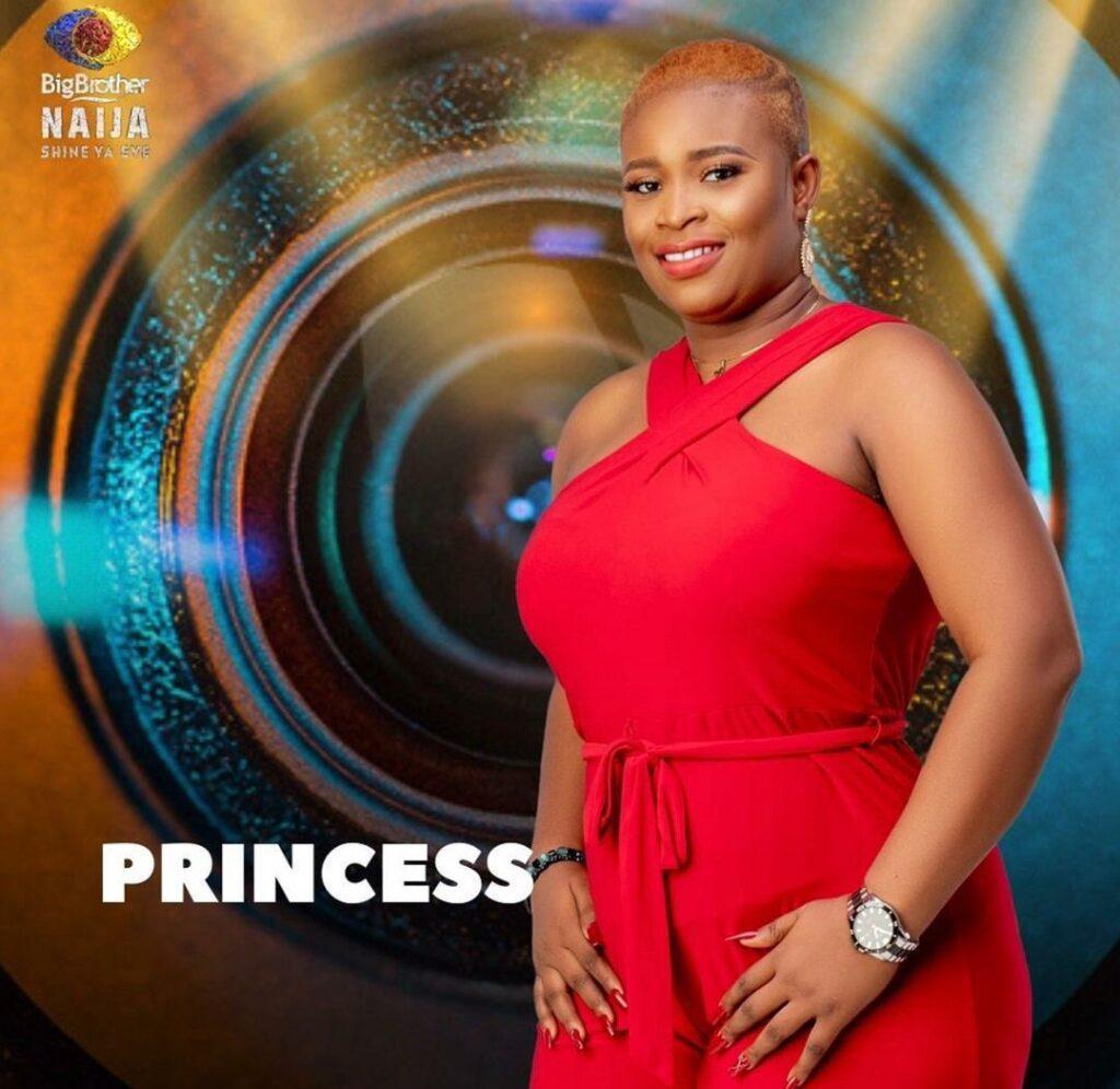 #BBNaija Princess open up on liking Cross