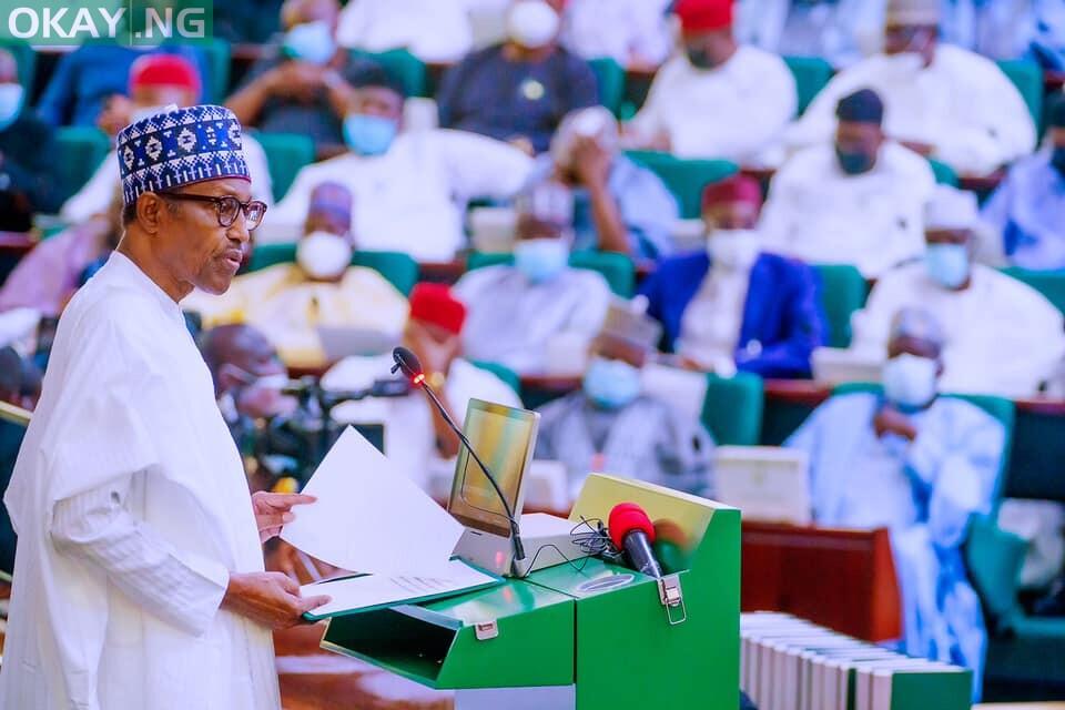 Muhammadu Buhari  presents N16.3trn 2022 budget proposal to National Assembly