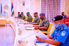IGP Absent As Buhari Meets With Security Chiefs.