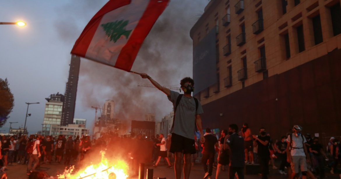 Day of mourning in Lebanon after the bloodshed at a protest
