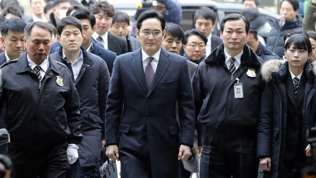 Samsung Boss Goes On Trial For Drugs Charges