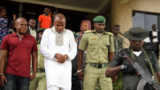 DSS Bars Journalists From Courtroom As Nnamdi Kanu Trial Resumes.