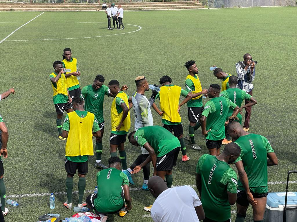 Super Eagles induct new players after training session ahead CAR clash