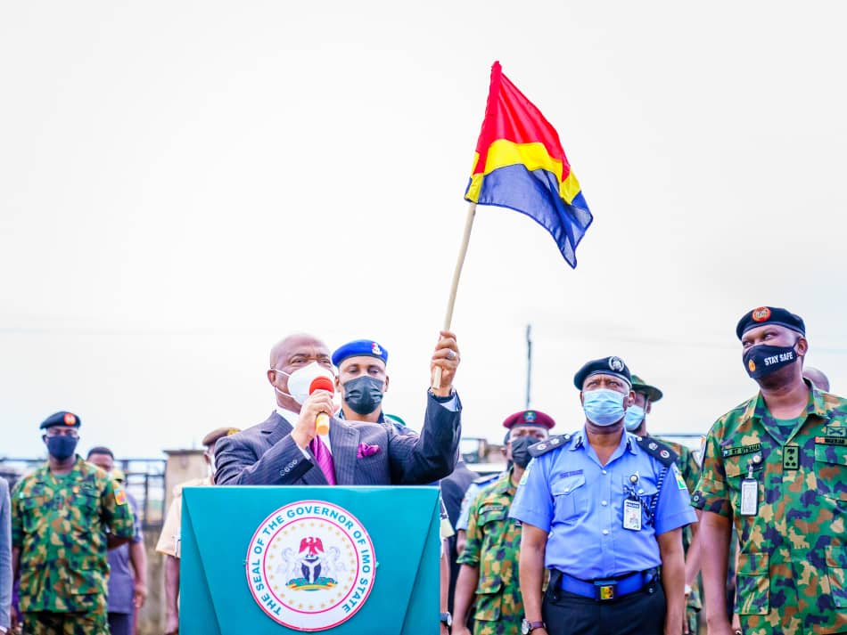Imo governor flags off Operation 'Golden Dawn'